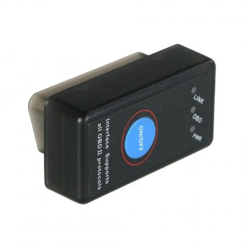 Автосканер ELM327 OBD2 Bluetooth прошивка V1.5 с кнопкой